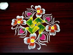 simple and easy rangoli designs for beginners