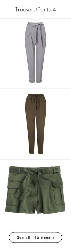 """""""Trousers/Pants 4"""" by shulabond on Polyvore featuring pants, bottoms, trousers, tapered pants, peg leg pants, tailored pants, peg-leg pants, phase eight, shorts and tie-dye shorts"""