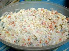 Hagyományos francia saláta recept Hungarian Cuisine, Hungarian Recipes, Cold Dishes, Veg Dishes, My Recipes, Cooking Recipes, Favorite Recipes, Coleslaw, Gourmet