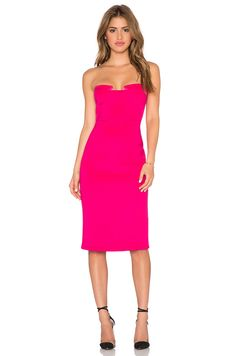 Lumier Night After Night Strapless Dress in Hot Pink & Candy Pink | REVOLVE