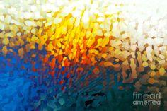 Christian Art- Revelation 3 8. Blessings For Obedience Painting