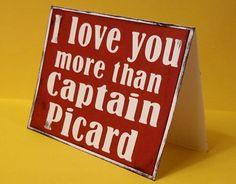 Captain Picard Card