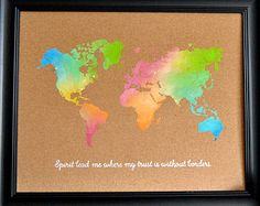 What a corker cotton on typo giftscool things to buy world map spirit lead me where my trust is without borders hillsong united hand gumiabroncs Choice Image