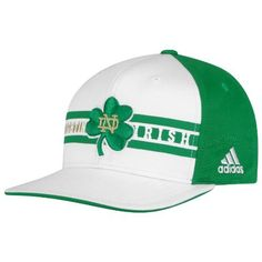 NCAA Men's Notre Dame Fighting Irish Emerlad Isle Classic Snapback Hat (White, OSFA) by adidas. $11.33. Bangladesh. 100% Cotton. Wipe Clean With Warm, Damp Cloth. Irish Fans! Get Ready For The Emerald Isle Classic Vs. Navy September 1St With The New Snapback Hat From Adidas. Save 40%!