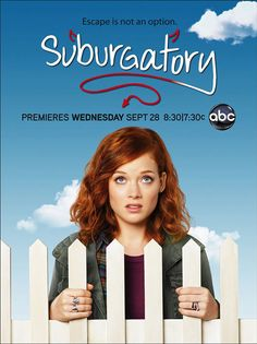 Suburgatory. Think Mean Girls meets Easy A in regards to it's style of humor. #ABC