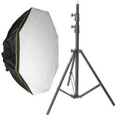 Impact Octacool-9 Fluorescent 1 Light Kit with Octabox (9 Lamps) With Stand. http://www.alpharettaphotography.com