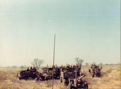 Samil gun tractor