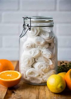 27 Zero Waste DIY Ideas That Will Make You Say, My God, It's Brilliant! Turn old t-shirts or rags into DIY citrus oil dusting wipes you can use over and over again. 27 Zero Waste DIY Ideas That Will Make You Say, My God, It's Brilliant Cleaning Recipes, House Cleaning Tips, Cleaning Hacks, Homemade Cleaning Supplies, Diy Cleaners, Cleaners Homemade, Household Cleaners, Household Tips, Green Cleaning