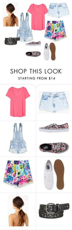 """Kelly Kapowski inspired outfit part 2"" by bmarie20 ❤ liked on Polyvore featuring MANGO, H&M, Vans and maurices"