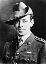 """James Francis Hurley, """"Frank Hurley"""" (1885-1962) became the first offical photographer to the Australian Imperial Forces."""