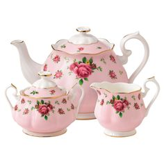 Sweet roses #tea set