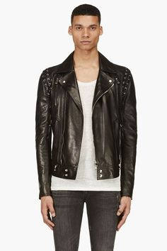 Balmain Spring/Summer 2014 Leather Jacket Collection