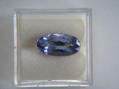 Tanzanite 4195: 3.69Ct Long Oval Shape Tanzanite - Nice! -> BUY IT NOW ONLY: $313 on eBay!