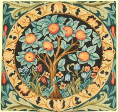 Historic Style - Tapestries - Orange Tree