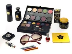 Mary Quant make-up set  and glasses; 1974, Mary Quant