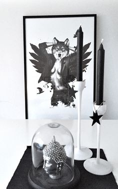 'She Wolf' poster 61x91 cm Shop now at: www.peopleoftomorrow.no