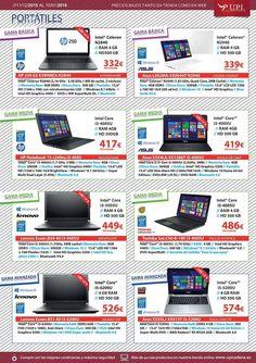 Oferta en portatiles,desde 269€ , no te quedes sin ellos estas navidades, en UPI Informatica.