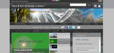 Plant and Soil Sciences eLibrary es una biblioteca digital que contiene distintas presentaciones en vídeo y lecciones, así como un glosario sobre plantas. Weed Science, Crop Production, Learning, Plants