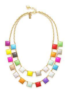 Tutti Fruitti Collar Necklace, $145