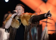 "Macklemore performs on ""The GRAMMY Nominations Live!! — Countdown To Music's Biggest Night"" on Dec. 6 in Los Angeles"