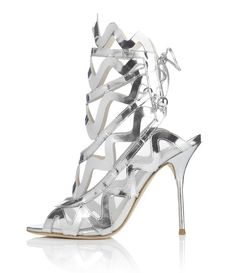 Le shoe heaven floor d'Harrod's sophia webster silver lining