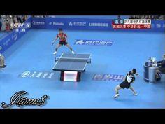 陳建安 獲勝 張繼科 2013 World Team Classic (MT-F/CHN-TPE/g2) [HD] ZHANG Jike - CHEN Chien-An [Full Match/Short Form] - YouTube