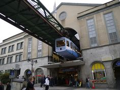 Wuppertal Schwebebahn Suspension Railway, Germany.