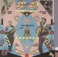 Rock and Roll The Early Days CD 12 Tracks 1985 Chuck Berry Jerry Lee Lewis RCA #RocknRoll