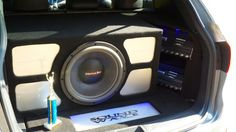 Custom install 1 15 American Bass HD SERIES ON 2200 WATTS RMS.  2ND PLACE WIN AT FIRST COMPETITION