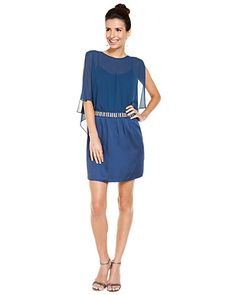 Some of you have to get in on this: Laundry by Shelli Segal Nite Sky Embellished Dress
