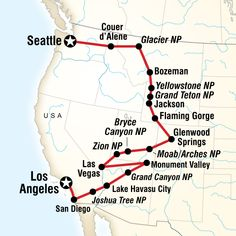 USA Road Trip: Los Angeles to Seattle Map of the route for Los Angeles to Seattle Road Trip USA Road Trip: Los Angeles to Seattle Map of the route for Los Angeles to Seattle Road Trip … Rv Travel, Travel Maps, Family Travel, Adventure Travel, Places To Travel, Travel Destinations, Road Trip Usa, West Coast Road Trip, Pacific Coast Highway