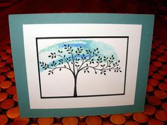 Serene Tree by stamphappy1650 - Cards and Paper Crafts at Splitcoaststampers