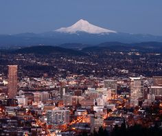 """As the TV show Portlandia puts it, """"Portland is where young people go to retire."""" Residents love their bicycles, food trucks, and comfortable shoes—and they also seem pretty happy.  Portland, Oregon - USA"""