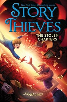 "The Stolen Chapters (Story Thieves) by James Riley, ""Owen Conners would never… New Children's Books, I Love Books, Good Books, Books To Read, Book Cover Art, Book Cover Design, Book Covers, Enchanted Book, Books For Tweens"