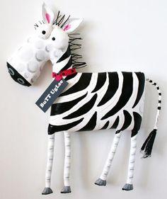 Zebra BuTT UgLee named BuBBles Black and White StriPes