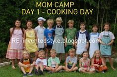 RE-invented style: RE-inventing Camp: MOM camp aka best camp eva!