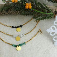 Brass gemstone bracelets make the perfect Christmas gift 🎄