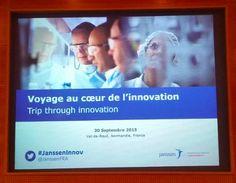 OPEN INNOVATION CHEZ JANSSEN - Voyage au Val de Reuil - Centre de R&D et de production de Johnson&Johnson - Janssen