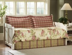bed spreads for day beds | Daybed Bedding - Wisteria Daybed Bedding-Southern Textiles