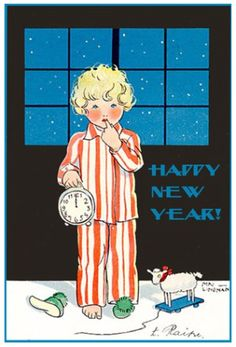 Deco Christmas and Happy New Year!  Source:  A Polar Bear's Tale