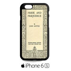 Cover Book Jane Austen iPhone 6S Case