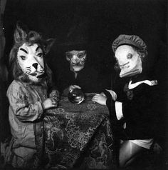 the-absolute-best-posts:  Creepy Halloween Kids c. 1920s-1950s