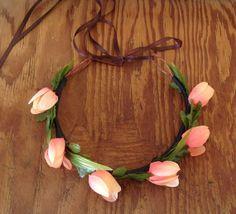 Tulip Flower Crown by KarmaBella