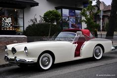 1954 Kaiser Darrin Convertible Roadster Stock Photo