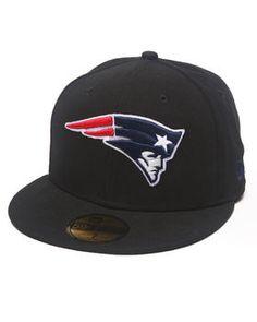 New Era   New England Patriots Nfl 2013 Black Crown Team 5950 Fitted Hat. Get it at DrJays.com
