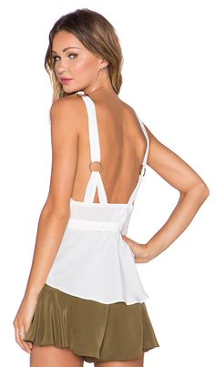 Shop for STONE_COLD_FOX Eddy Tank in White Silk at REVOLVE. Free 2-3 day shipping and returns, 30 day price match guarantee.