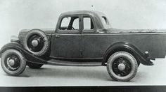 Number one ... the original Ford ute design from the 1930s. Picture: Supplied.