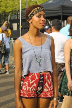 Fashion Photos from this past weekend's AFRO Punk fest in New York