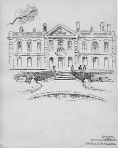 Les dessins de Lucien de Maleville et le patrimoine monumental de la Gironde