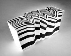 Striped Morph notepad